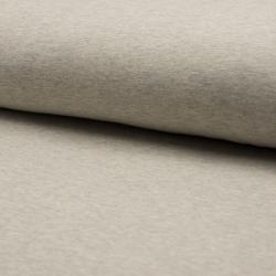 Tissu French Terry Bio Imprime Gris