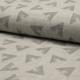 Tissu Lange Bio Imprimé Diamond Gris