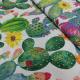 Tissu Tampico Imprime Cactus