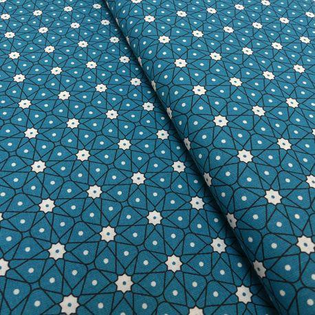 Tissu Ceramik Cretonne Ocean