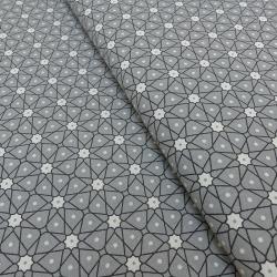 Tissu Ceramik Cretonne Gris