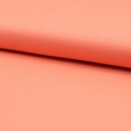 Tissu Voile de Coton Uni Saumon