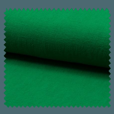 Tissu Lin Lavé Vert