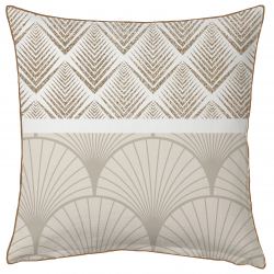 Coussin Tiffany Digital creme
