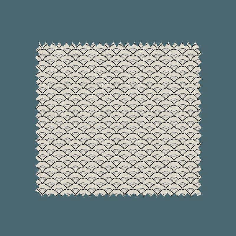tissu koi imprim coloris lin tissus des ursules. Black Bedroom Furniture Sets. Home Design Ideas