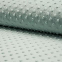 Tissu Bubble Minky Uni Amande