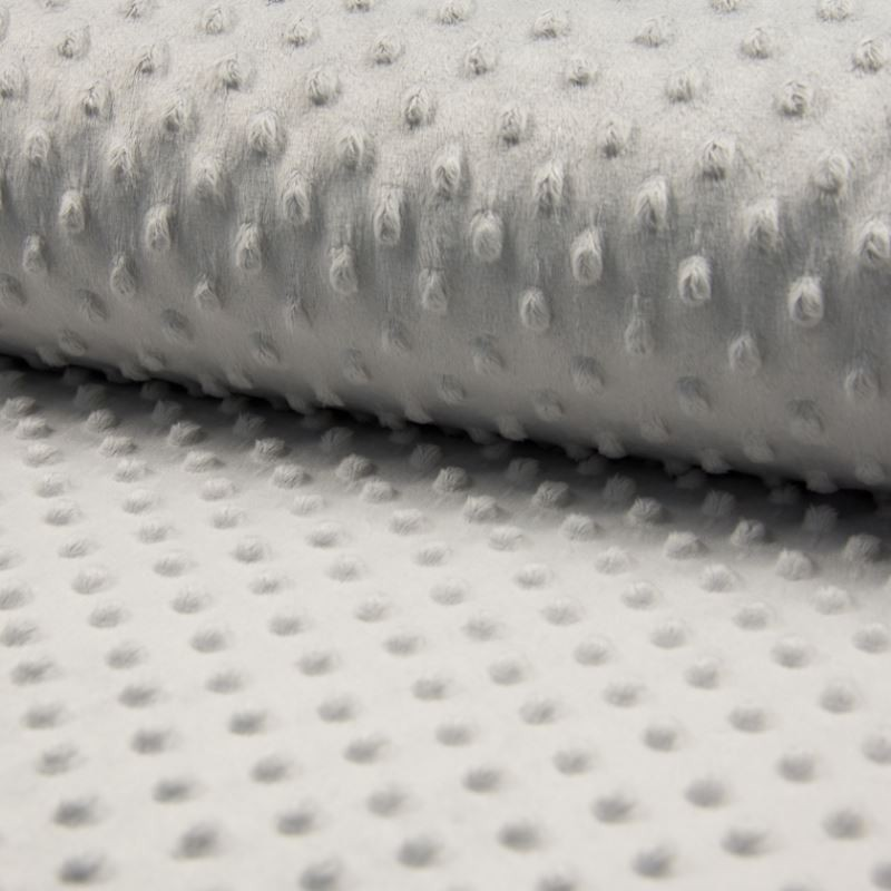 Tissu Bubble Minky Uni Perle