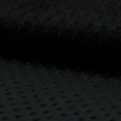 Tissu Minky Bubble Noir