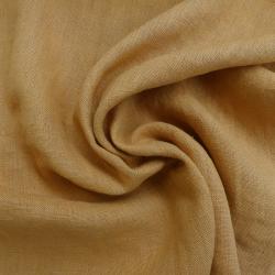 Tissu Verone Lin Lavé Gold
