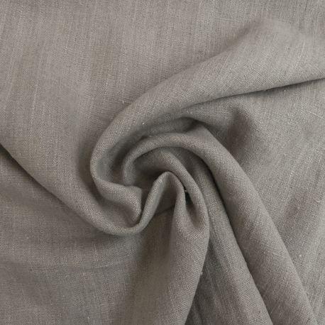 Tissu Verone Lin Lavé Naturel