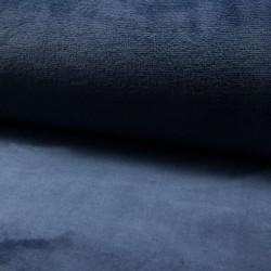 Tissu Polaire Panda Uni Jeans