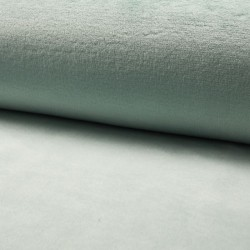 Tissu Polaire Microfibre Panda Uni Amande
