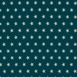 Tissu Coton Imprimé Etoile Canard