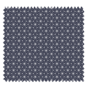 Tissu Fuji Imprimé Bleu Nuit