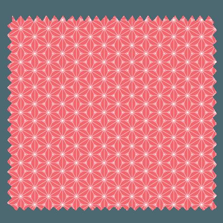 Tissu Fuji Imprimé Fraise
