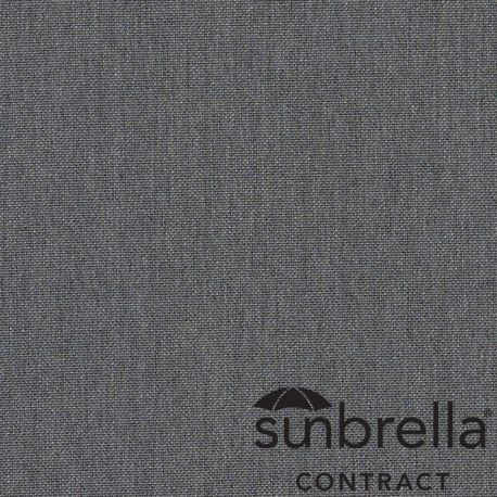 Tissu Sunbrella Natté Charbon