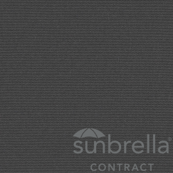 Tissu Sunbrella Solid Anthracite