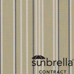 Tissu Sunbrella® Stripe Rayé Vert