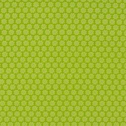 Tissu Imprimé Floralie Anis