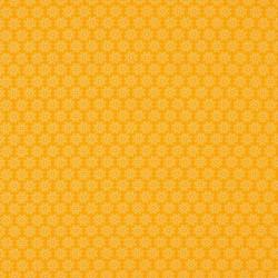 Tissu Imprimé Floralie Jaune