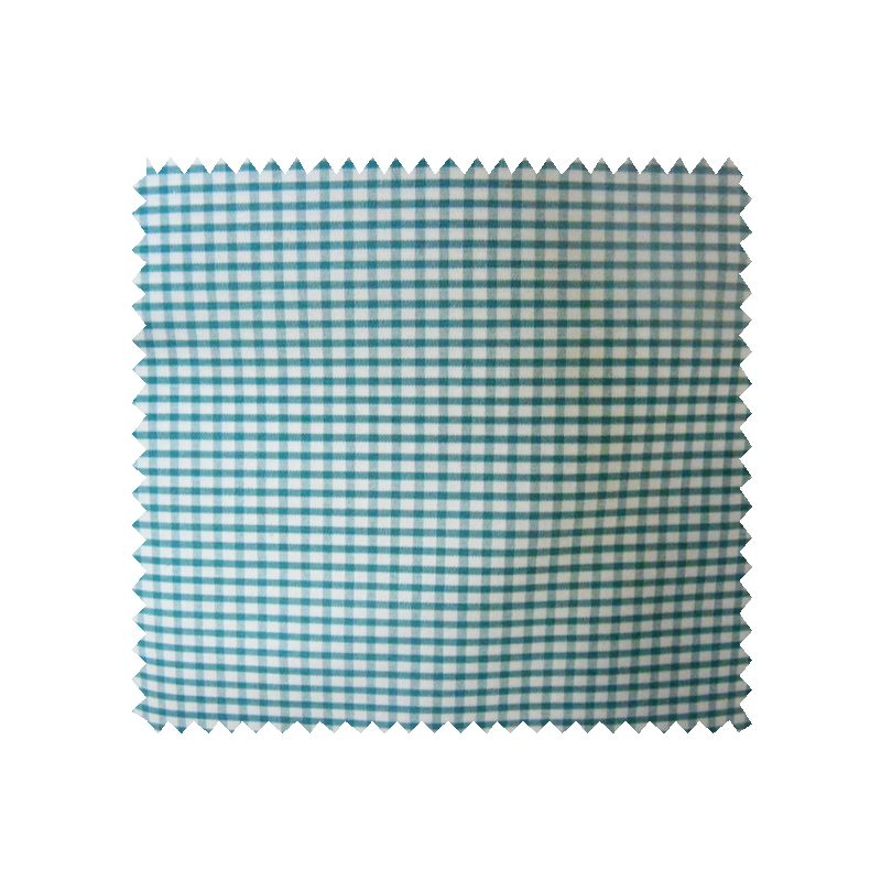 Tissu Petit Vichy Vert Blanc