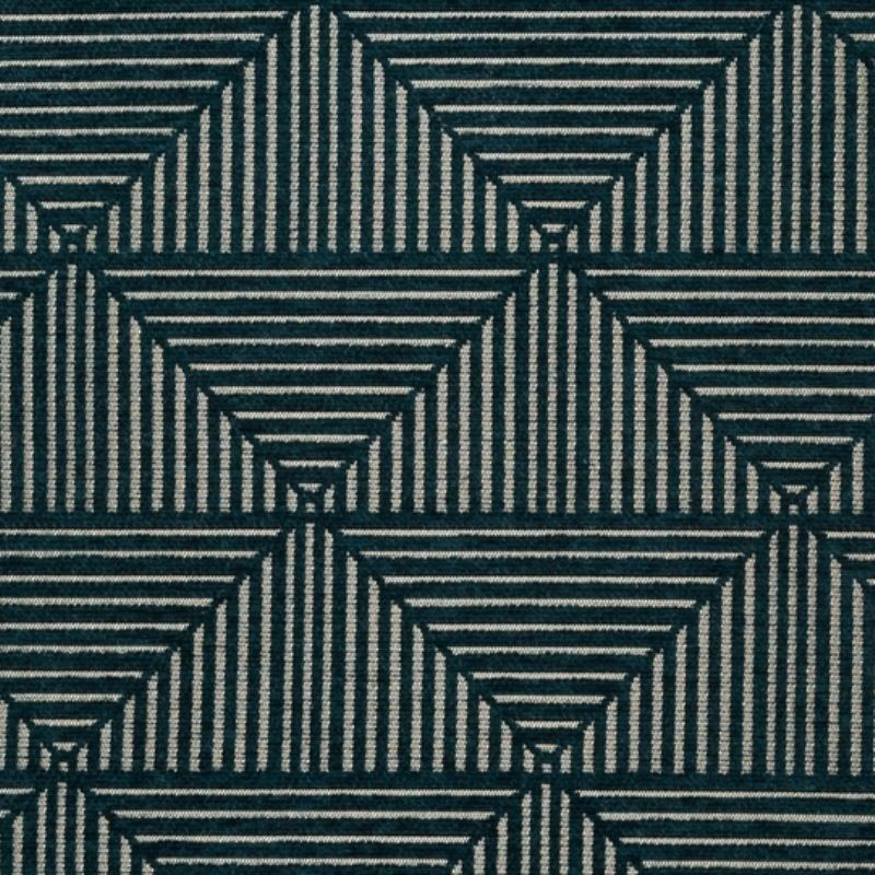 Tissu Floyd Jacq Bleu Paon