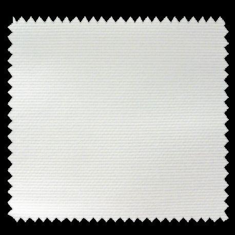 Tissu Pique Coton Uni Blanc