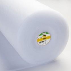 Tissu Vlieseline Molleton Volumineux Blanc