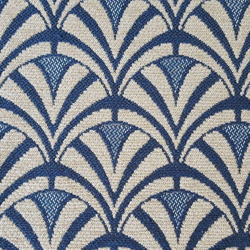 Tissu Dior Jacquard Bleu