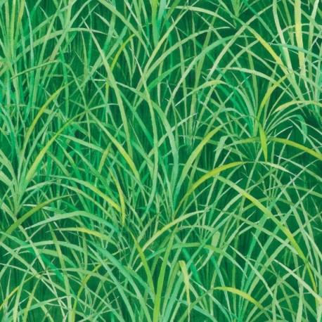 Tissu Gazon Vert