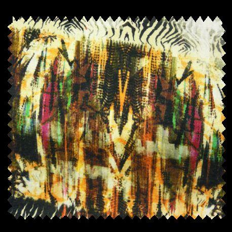 Coussin Garnie Woodland Fausse Fourrure Malachite