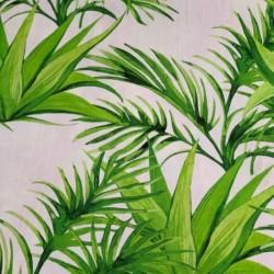Tissu Digisun Toile Sumatra Anis