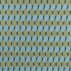 Tissu Cohiba Bleu Vert