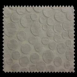 Tissu Devoré Pastille Grege