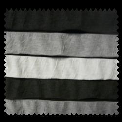 Tissu Volants Noir Gris Blanc