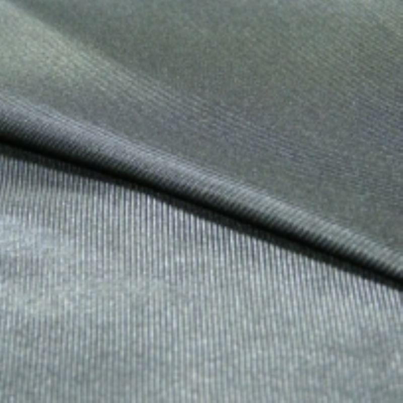 Tissu Doublure Maille Uni Noir