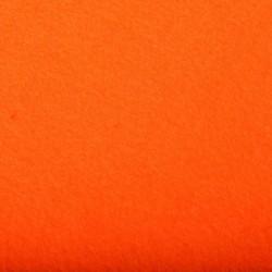 Tissu Feutrine Uni Orange L180