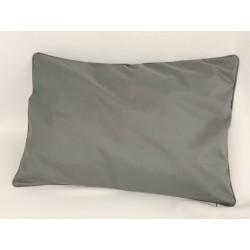 Housse de Coussin Ramatuelle Anthracite 45x45 cm