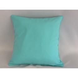 Housse de Coussin Ramatuelle Turquoise 45x45 cm