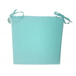 Galette de Chaise Ramatuelle Turquoise 38x38 cm