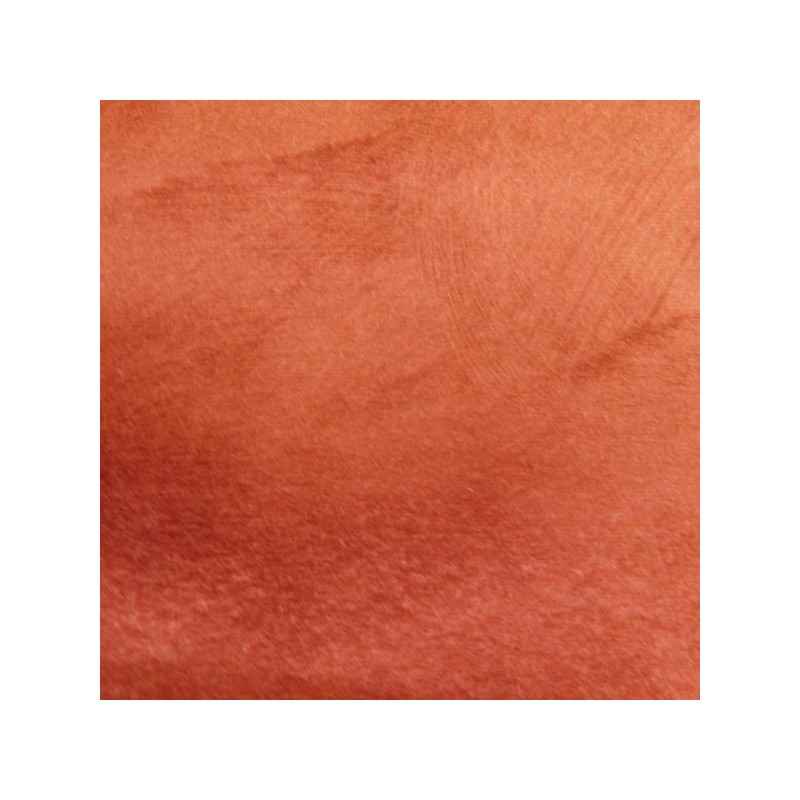 Tissu Reflet Peau de Pêche Rouge Déperlant Anti-tache