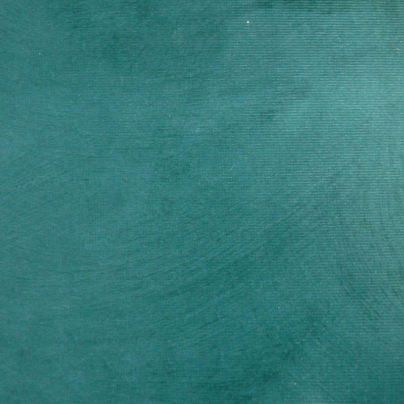 Tissu Reflet Peau de Pêche Bleu Canard Déperlant Anti-tache