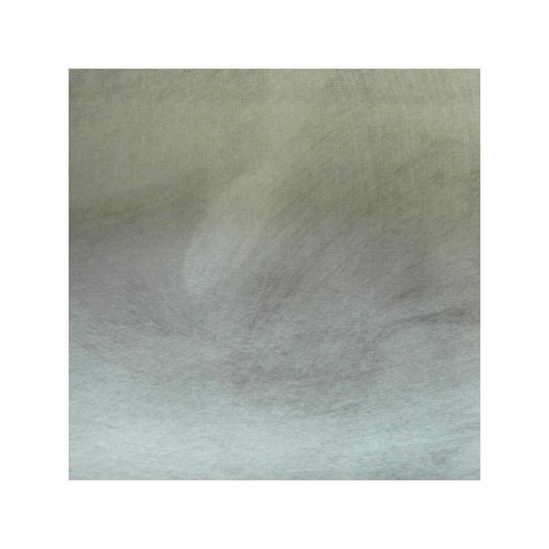 Tissu Reflet Peau de Pêche Gris Déperlant Anti-tache