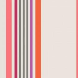 Tissu Greg Coton Enduit Teflon Beige Corail