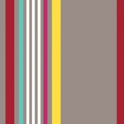 Tissu Greg Coton Enduit Teflon Taupe