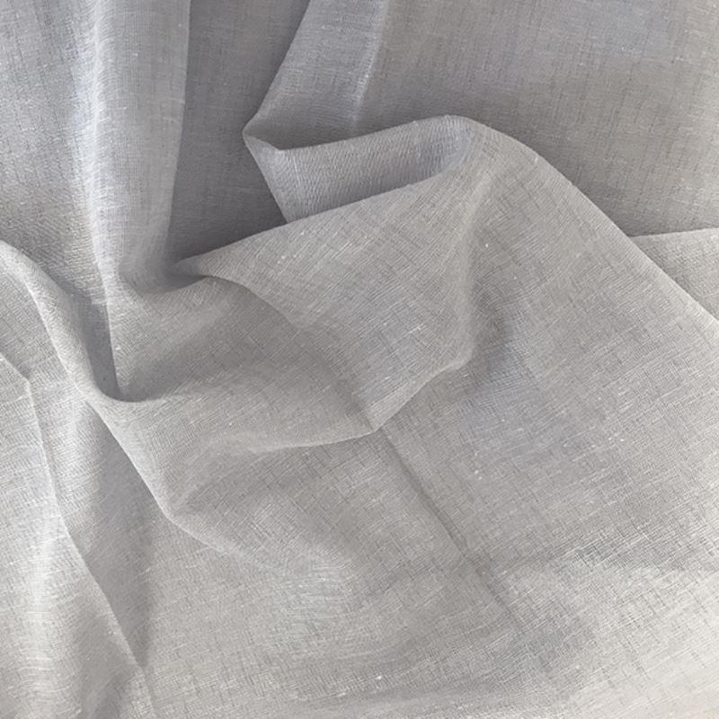 Tissu Julie Etamine Scintillant Perle