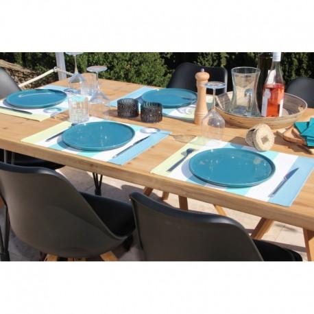 Set de Table Deauville Turquoise