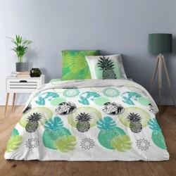 Linge de lit venus Vert