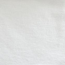 Tissu Molleton Coton Bio Blanc