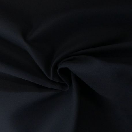 Tissu Serge Non Feu Noir
